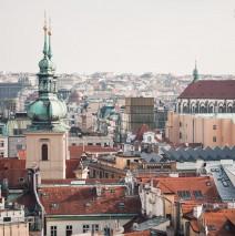 Prag – Skyline / St.-Gallus-Kirche