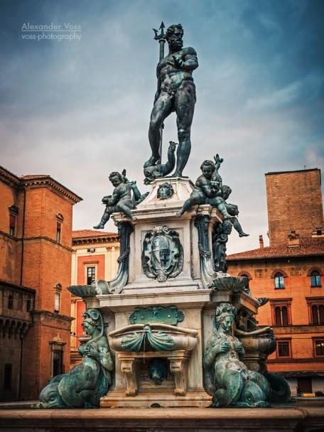 Bologna - Fontana del Nettuno