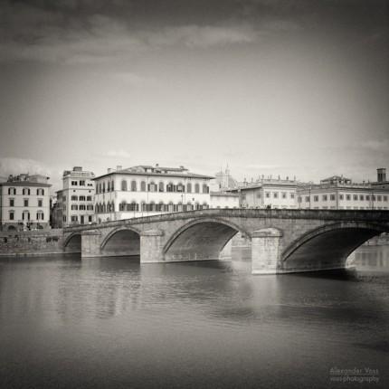 Analoge Schwarzweiss-Fotografie: Florenz