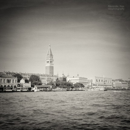 Analog Black and White Photography: Venice