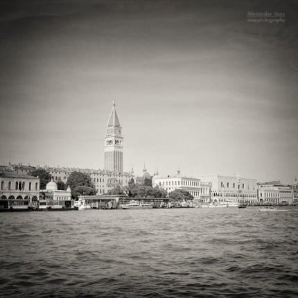 Analoge Schwarzweiss-Fotografie: Venedig