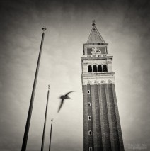 Analog Black and White Photography: Venice – Campanile