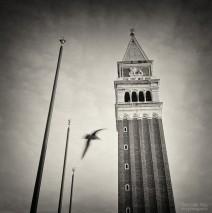 Analoge Schwarzweiss-Fotografie: Venedig – Campanile