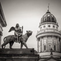 Black and White Photography: Berlin – Gendarmenmarkt Square