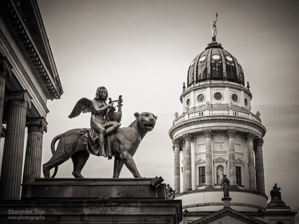 Black and White Photography: Berlin - Gendarmenmarkt Square