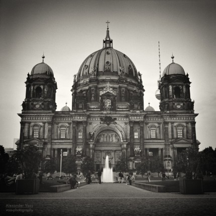 Analoge Schwarzweiss-Fotografie: Berliner Dom