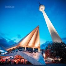 Berlin – Fernsehturm / Sockelgebäude