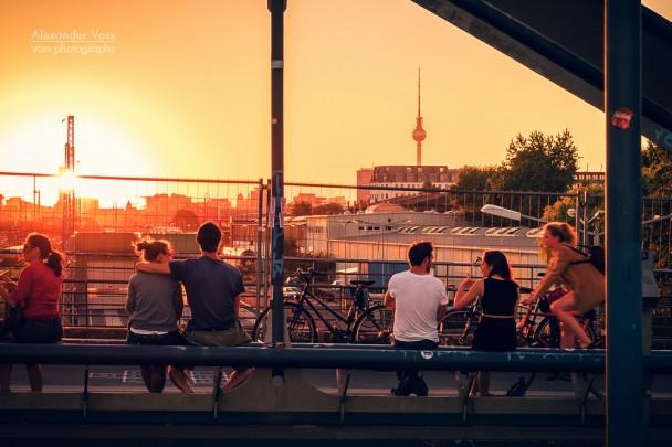 Berlin - Friedrichshain / Modersohnbrücke