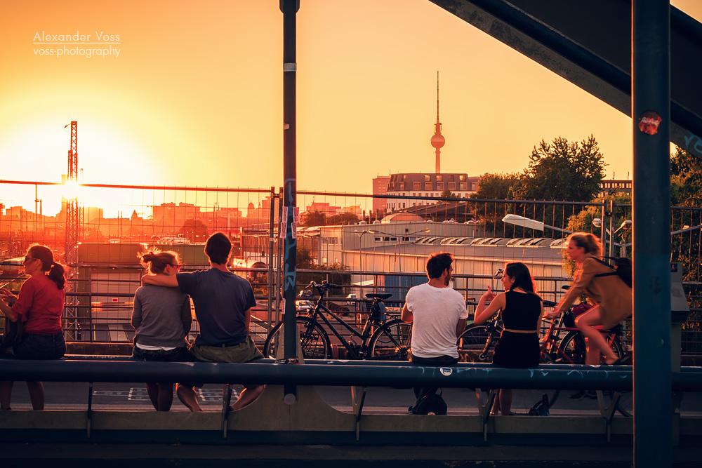 Berlin - Friedrichshain / Modersohnbruecke