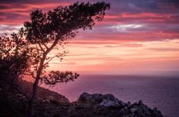 Mallorca – Sonnenuntergang in der Serra de Tramuntana
