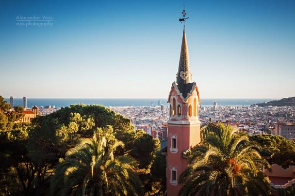 Barcelona - Skyline / Park Güell