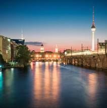 Berlin – Skyline Jannowitz Bridge