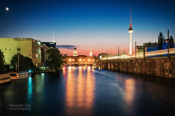 Berlin - Skyline Jannowitzbrücke
