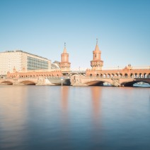 Long Exposure Photography: Berlin – Oberbaum Bridge