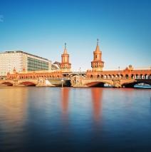 Langzeitbelichtung: Berlin – Oberbaumbrücke