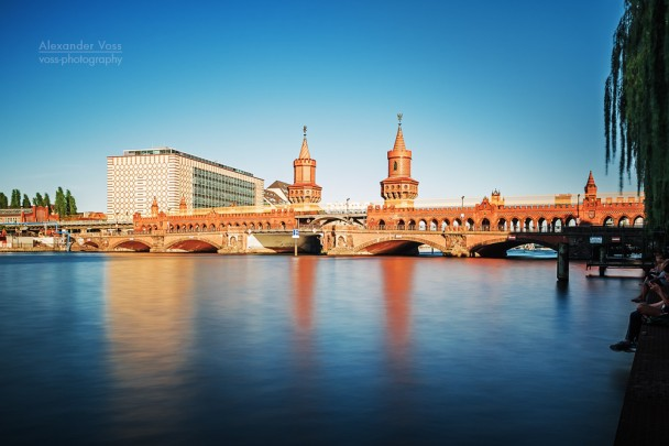 Langzeitbelichtung: Berlin - Oberbaumbrücke