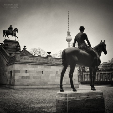 Analog Black and White Photography: Berlin – Alte Nationalgalerie