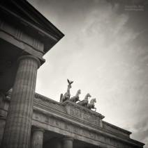 Analoge Schwarzweiss-Fotografie: Berlin – Brandenburger Tor