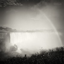 Analog Black and White Photography: Niagara Falls