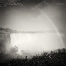 Analoge Schwarzweiss-Fotografie: Niagara Falls
