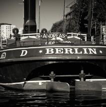 Schwarzweiss-Fotografie: Berlin – Historischer Hafen
