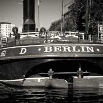 Black and White Photography: Berlin – Historischer Hafen
