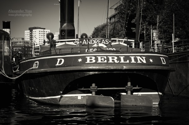 Black and White Photography: Berlin - Historischer Hafen