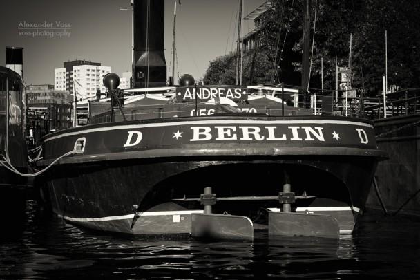 Black and White Photography: Berlin - Historischer Hafen
