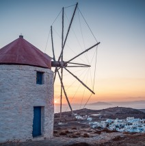 Amorgos – Windmills of Chora