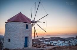 Amorgos – Windmühlen von Chora