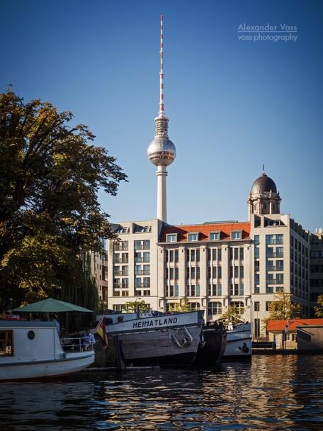 Berlin - TV Tower / Historischer Hafen