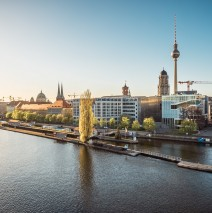 Berlin – Skyline an der Spree