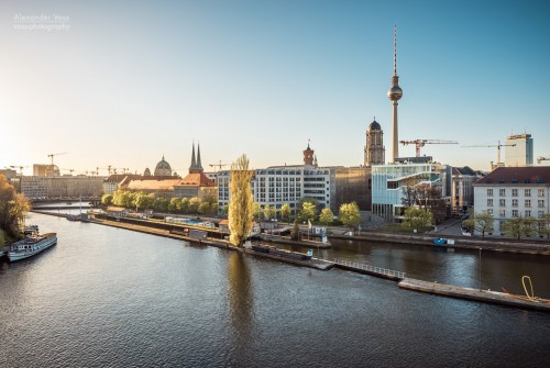 Berlin – Skyline at Spree River