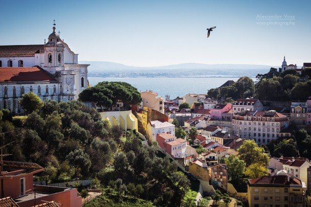 Lissabon - Igreja e Convento da Graça