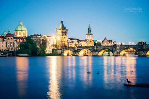 Prague at Night - Charles Bridge