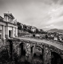Black and White Photography: Bergamo – Porta San Giacomo