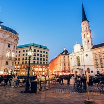 Vienna – Michaelerplatz Square