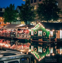 Kopenhagen – Christianshavn bei Nacht