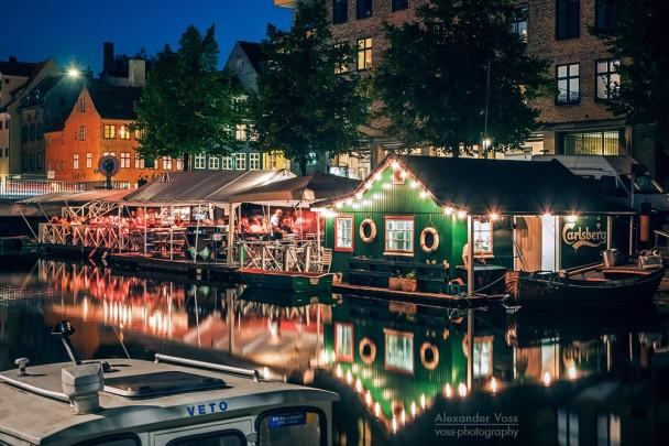 Kopenhagen - Christianshavn bei Nacht
