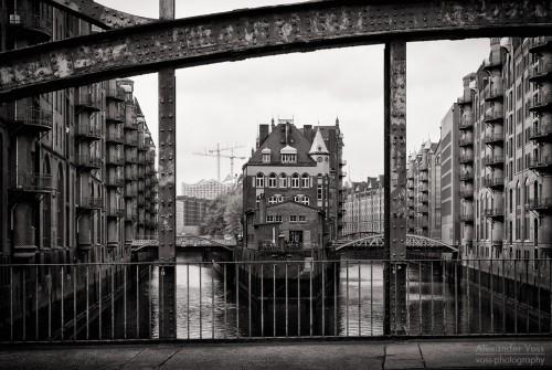 Schwarzweiss-Fotografie: Hamburg – Speicherstadt