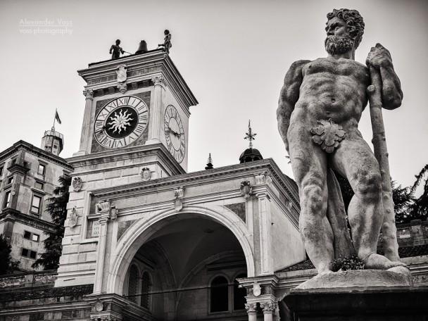Black and White Photography: Udine - Piazza della Libertà