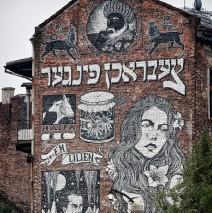 Krakau – Kazimierz Street Art