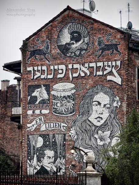 Krakau - Kazimierz Street Art
