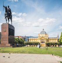 Zagreb – King Tomislav Square