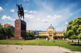 Zagreb – Tomislav-Platz
