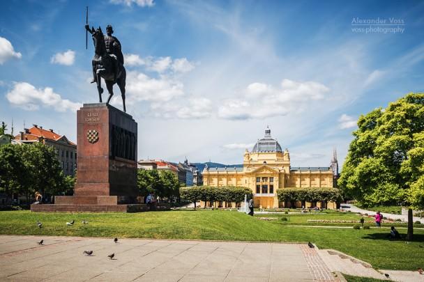 Zagreb - King Tomislav Square