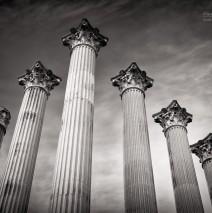 Black and White Photography: Córdoba – Templo Romano