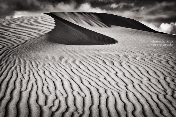 Black and White Photography: Dunas de Maspalomas