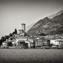 Black and White Photography: Malcesine – Lake Garda