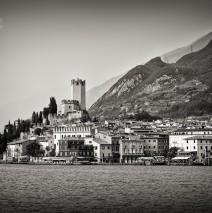 Black and White Photography: Malcesine – Lake Garda
